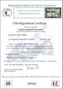 TLA reg certificate IMASA 2017-2018